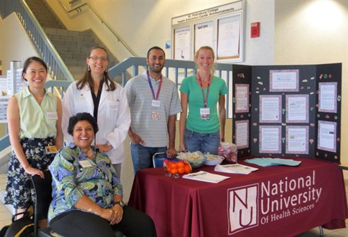 Photo of participants in National Public Health Week