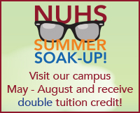 Visit NUHS this summer and receive double tuition credit